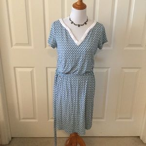C Wonder Belted Shirt Dress